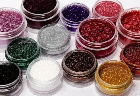 Glitters para maquiagem